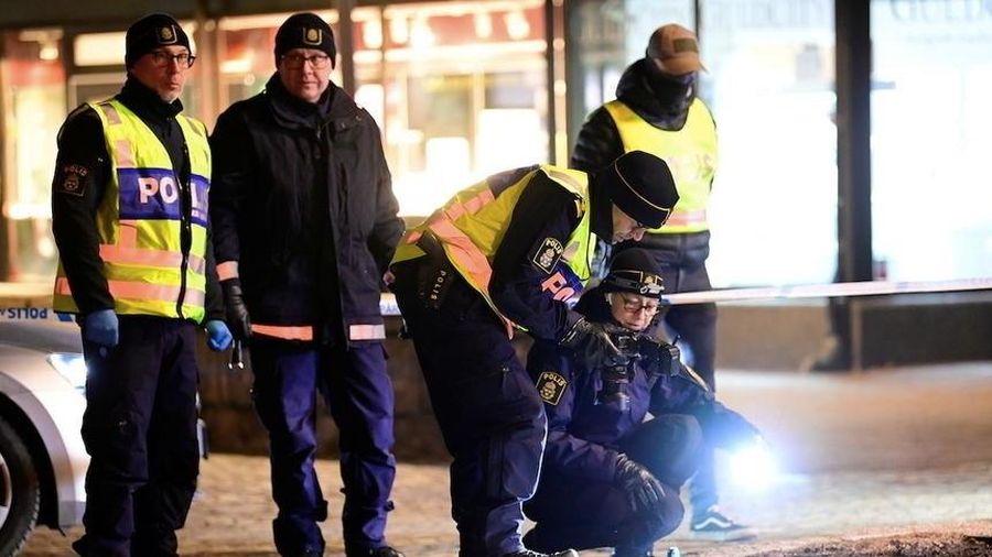 Vụ đâm chém điên loạn ở Thụy Điển có thể là khủng bố