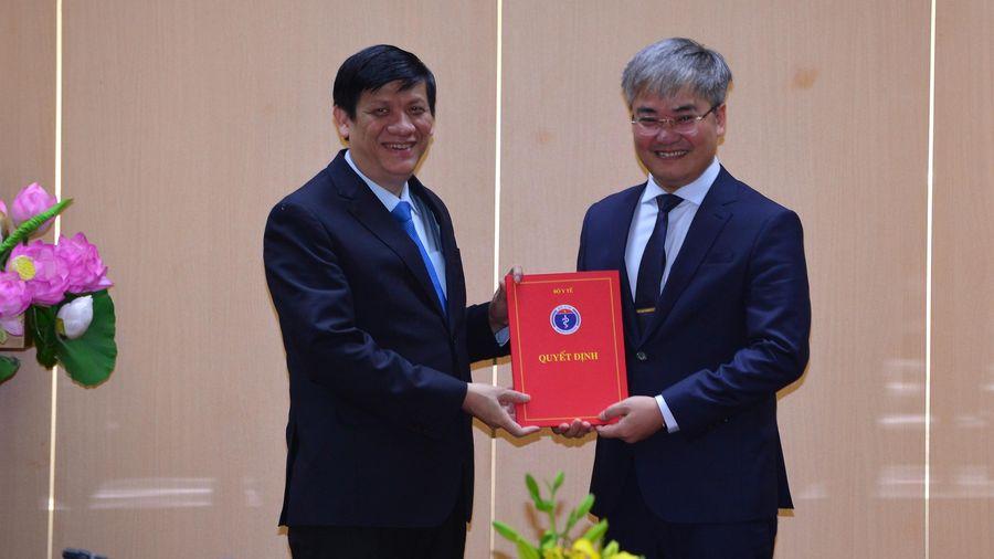 Nhà báo Trần Tuấn Linh giữ chức vụ Tổng Biên tập Báo Sức khỏe và Đời sống