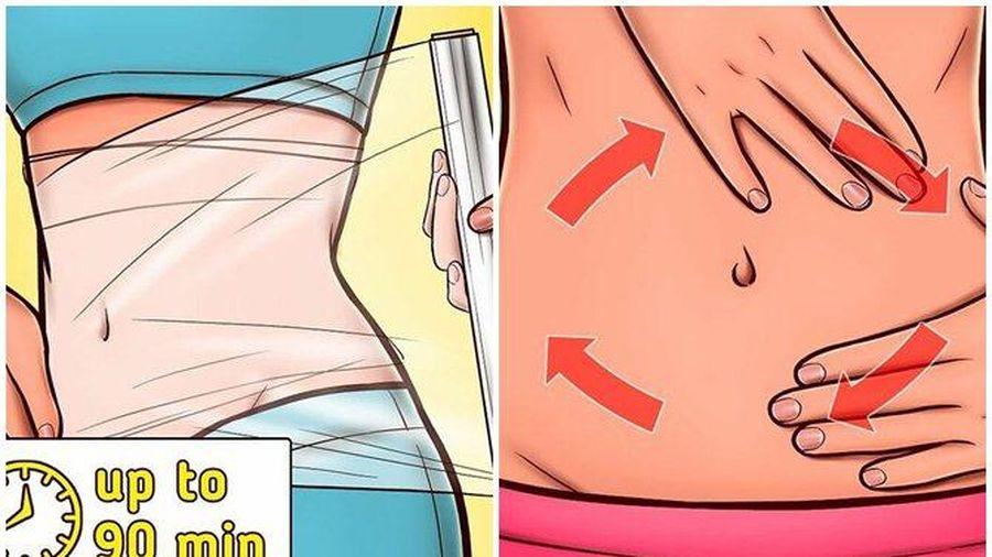 6 mẹo cải thiện vùng da bụng chảy xệ