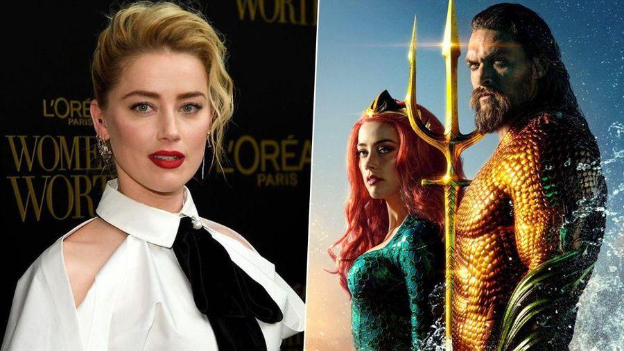 Amber Heard tố ngược WB lan truyền tin đồn mình bị sa thải khỏi Aquaman 2