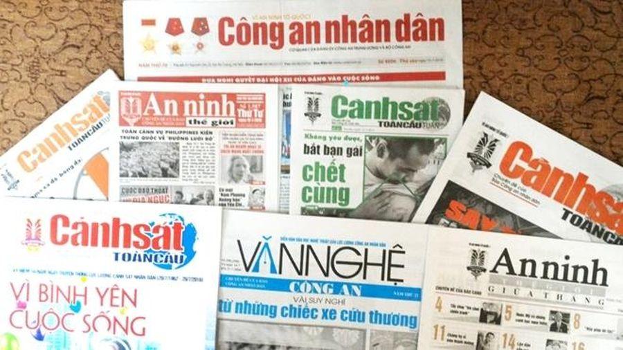 Thêm 4 tờ báo trở thành chuyên đề của Báo Công an nhân dân