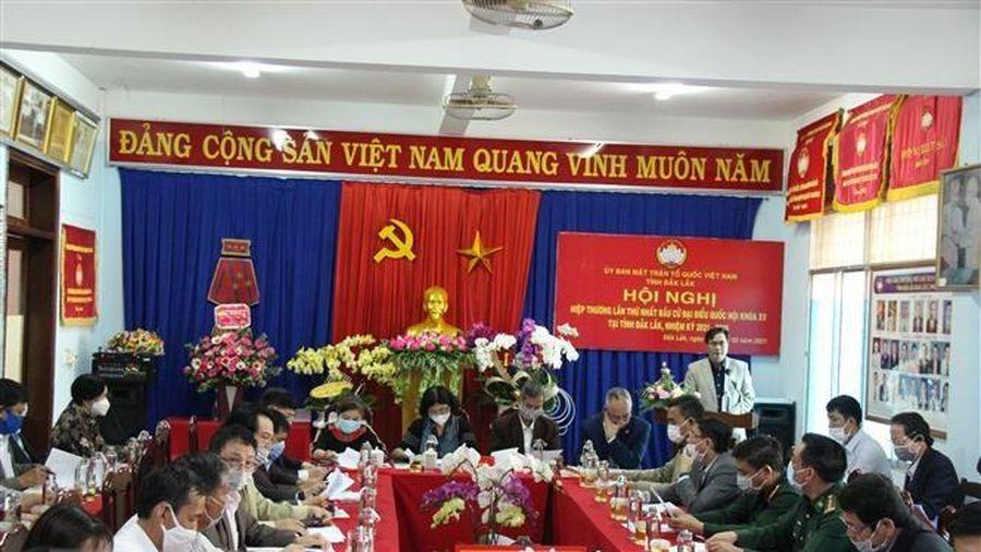 Đắk Lắk triển khai công tác bầu cử đúng tiến độ, quy trình