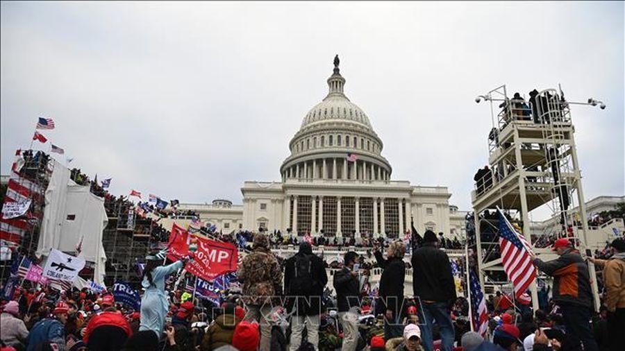 Cảnh sát Mỹ tăng cường an ninh tại Đồi Capitol