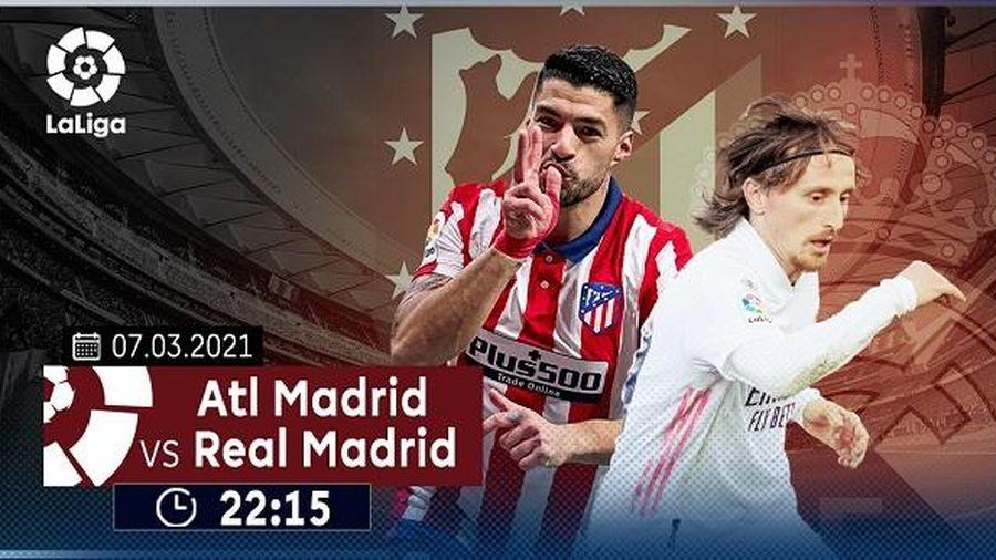 Luis Suarez muốn chứng minh 'lý do đứng ngôi đầu bảng' khi Atletico Madrid đối đầu Real Madrid