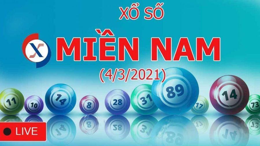 XSMN 4/3: Kết quả xổ số miền Nam hôm nay