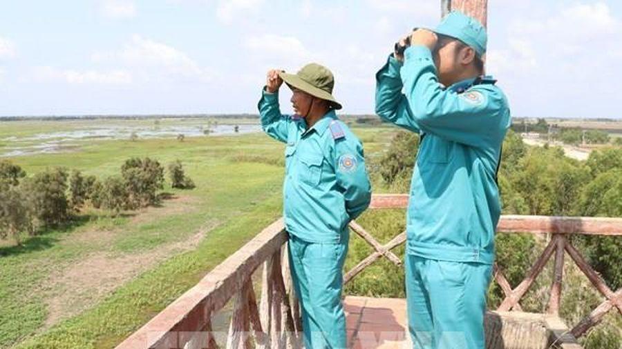 Đồng Tháp tổ chức trực 24/24 giờ phòng cháy, chữa cháy rừng mùa khô