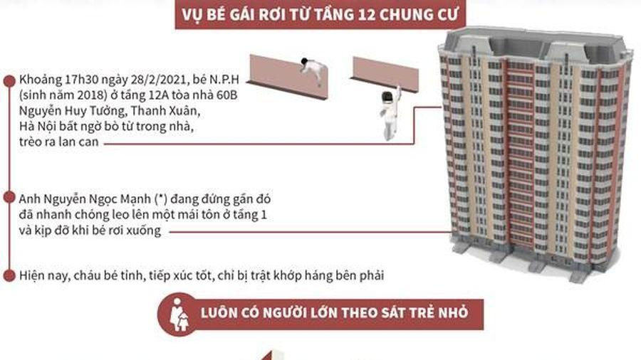 Đảm bảo an toàn cho trẻ khi sống ở chung cư cao tầng