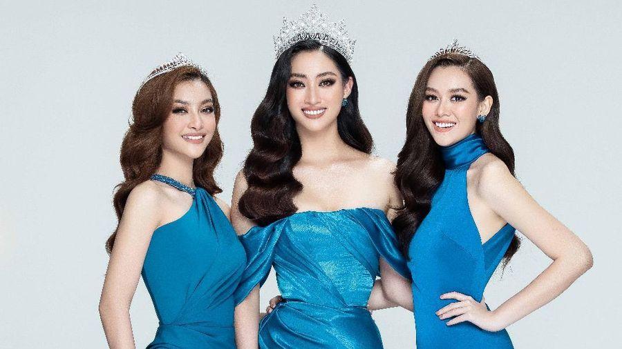 Lương Thùy Linh, Kiều Loan, Tường San đẹp lộng lẫy, khởi động Miss World Vietnam 2021