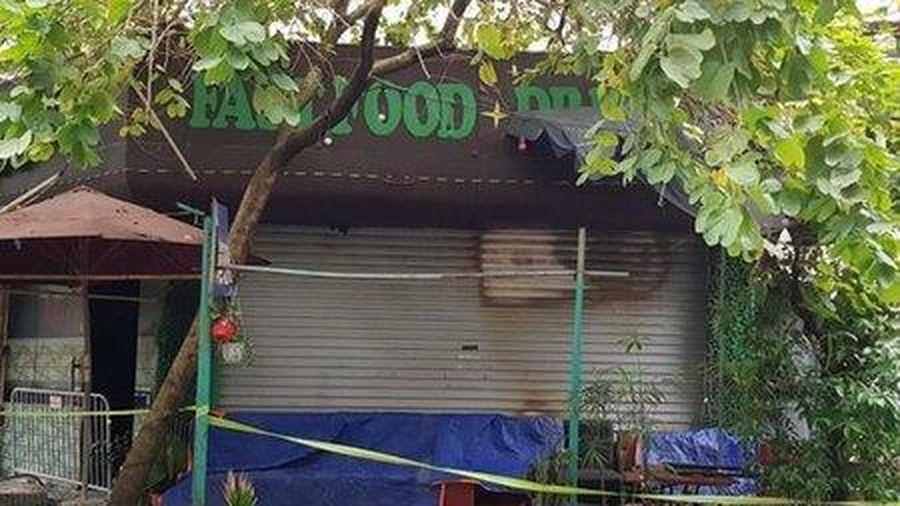 Hà Nội: Cháy quán cà phê lúc rạng sáng, một người tử vong