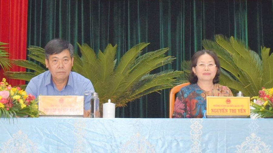 Đoàn Đại biểu Quốc hội tỉnh tiếp xúc cử tri huyện Xuyên Mộc