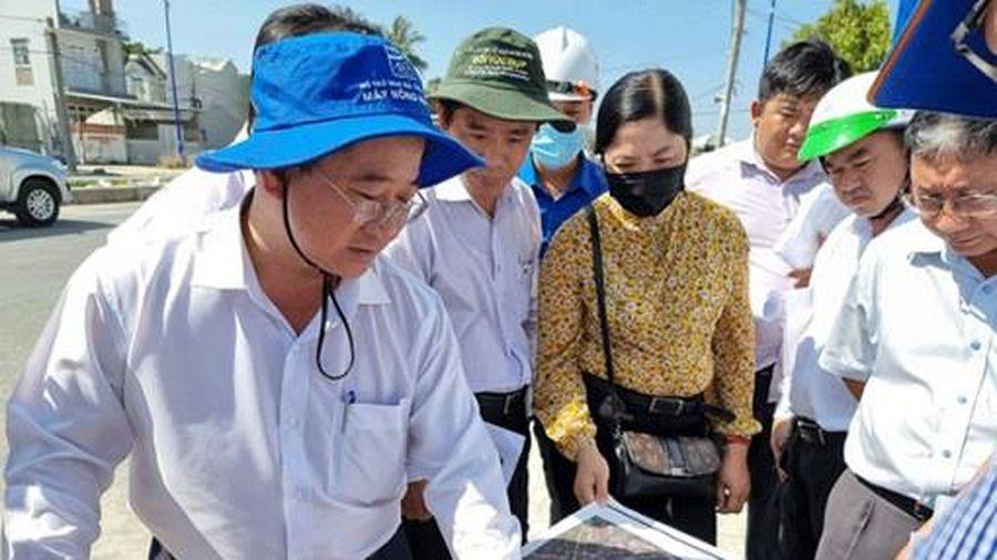 Chủ tịch UBND TP Cần Thơ kiểm tra các công trình thuộc Dự án 3