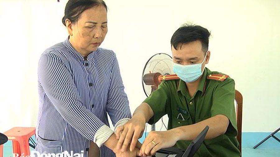 Huyện Định Quán triển khai cấp và quản lý Căn cước công dân