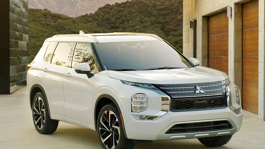 Mitsubishi Outlander 2022 lộ thông số kỹ thuật, chiều dài xe gây choáng