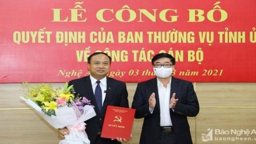 Bổ nhiệm nhân sự, lãnh đạo mới Nghệ An, Hòa Bình, Bắc Ninh