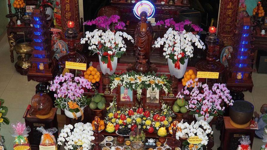 TP.HCM: Lễ húy nhật Quốc sư Thích Phước Huệ tại chùa Giác Uyển