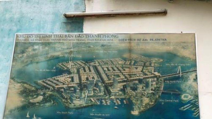 Chủ đầu tư dự án Khu đô thị sinh thái bán đảo Thanh Phong xây chui hạ tầng
