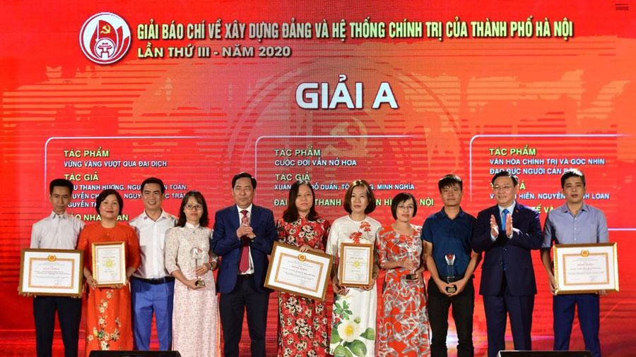 Thống nhất nội dung kế hoạch tổ chức hai Giải báo chí của Hà Nội năm 2021
