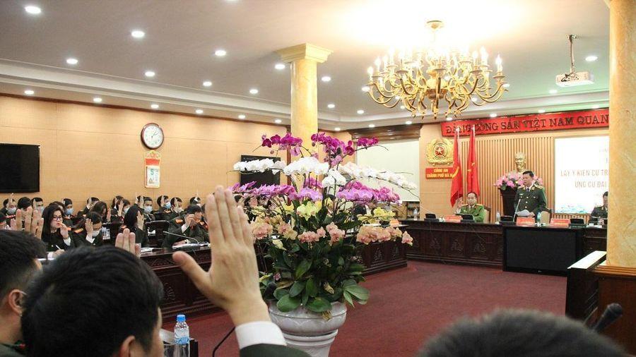 Giám đốc CATP Hà Nội được giới thiệu ứng cử đại biểu Quốc hội khóa XV