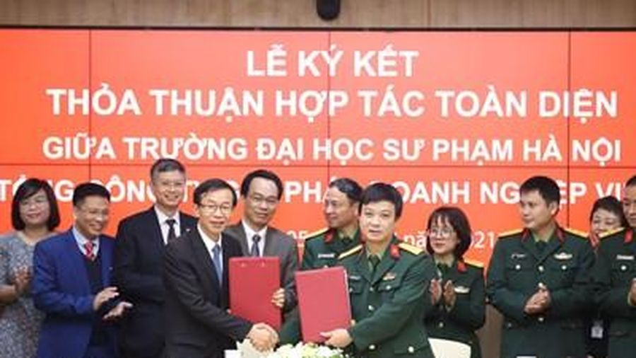 Đại học Sư phạm Hà Nội và Viettel hợp tác chiến lược chuyển đổi số