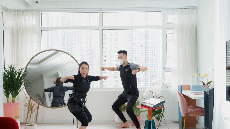 Dịch vụ tập luyện tại nhà ngày càng được ưa chuộng