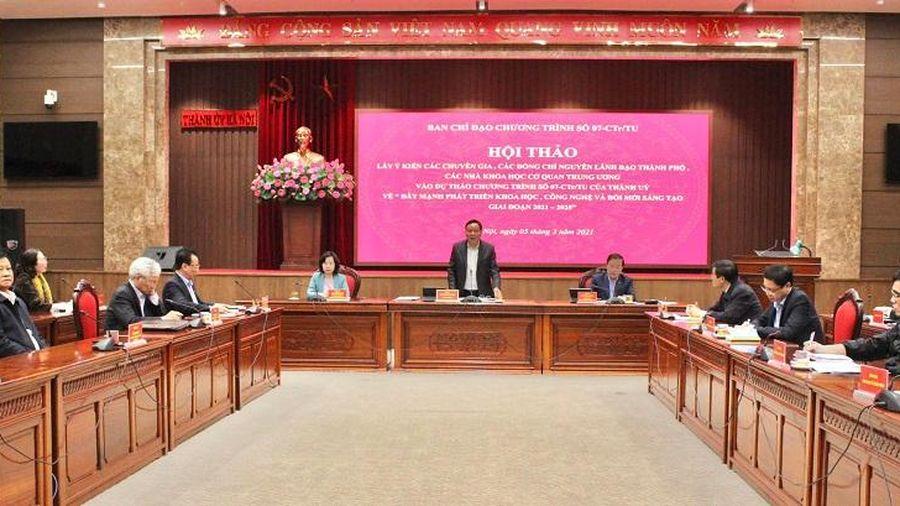 Phó Bí thư Thành ủy Hà Nội Nguyễn Văn Phong: Khoa học công nghệ - nguồn lực cho Thủ đô phát triển nhanh, bền vững