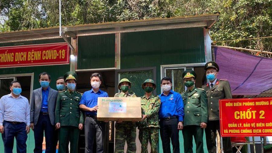 Tỉnh đoàn Nghệ An tổ chức 'Tháng Ba biên giới' tại huyện miền núi 30a Kỳ Sơn