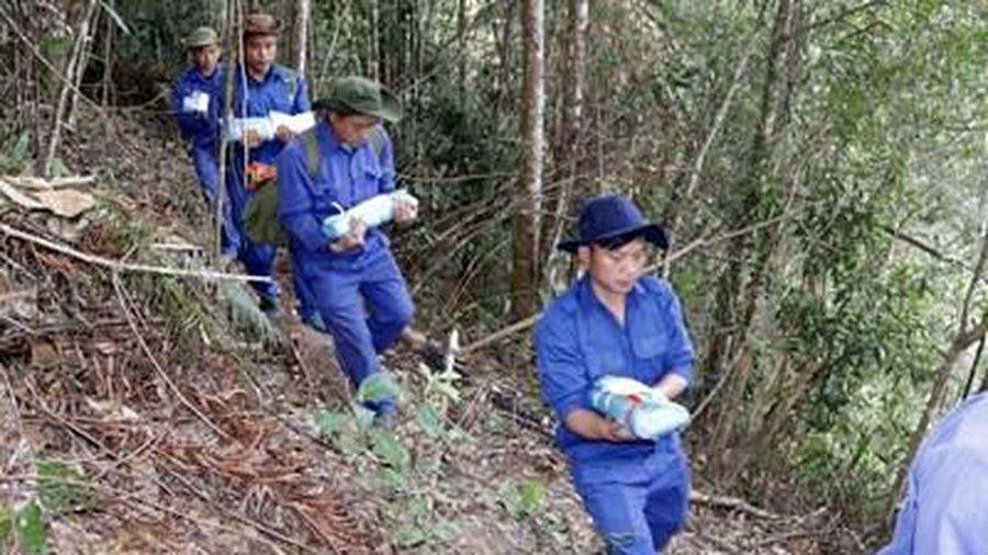 Quy tập 8 hài cốt liệt sĩ có tên là bộ đội Việt Nam hy sinh tại Lào