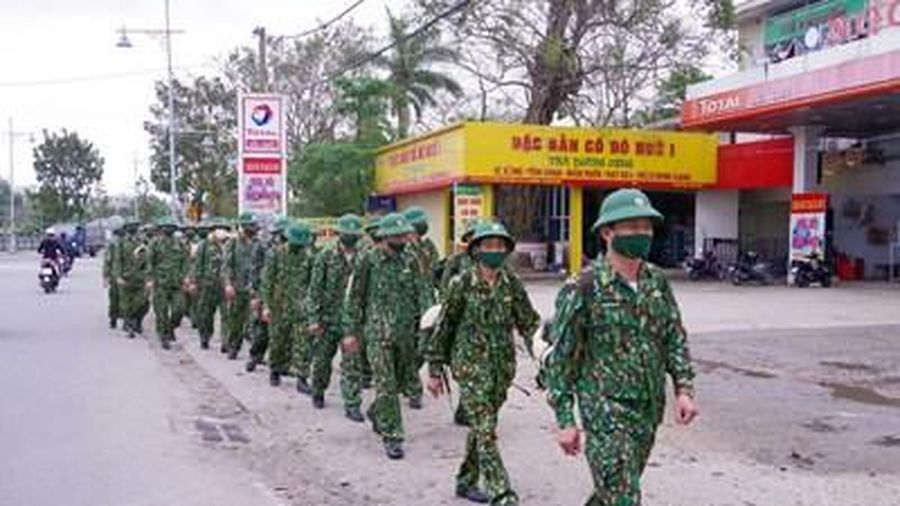 Bộ đội Biên phòng tỉnh Thừa Thiên Huế luyện tập chuyển trạng thái sẵn sàng chiến đấu