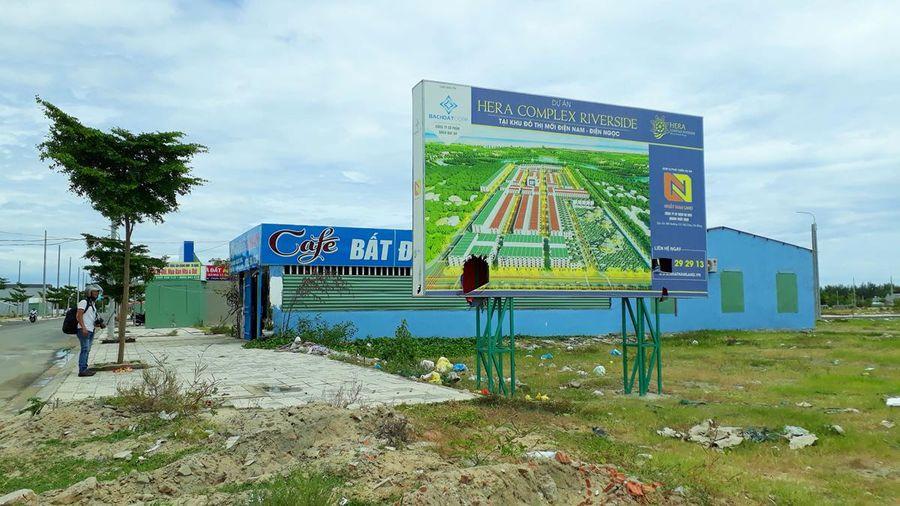 Quảng Nam: Nhiều dự án phân lô bán nền nhưng không có đất cho người dân tái định cư