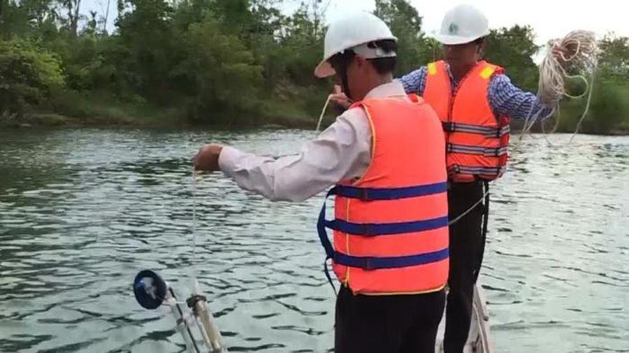 Nhiều sông ở Quảng Trị bị xâm nhập mặn