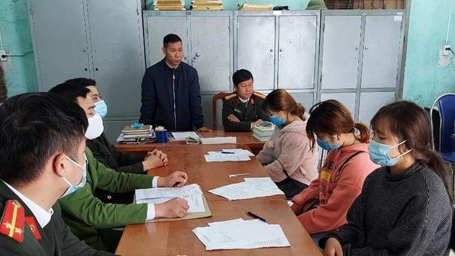 Hà Giang: Xử phạt 3 công dân khai báo y tế không trung thực