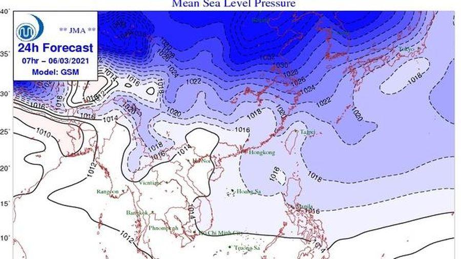 Miền Bắc sắp đón thêm không khí lạnh, cảnh báo gió mạnh sóng lớn trên biển