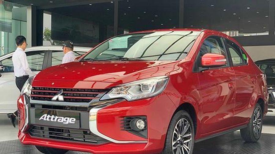 Bảng giá xe ô tô Mitsubishi mới nhất tháng 3/2021: 'Lính mới' Mitsubishi Attrage Premium giá 485 triệu đồng