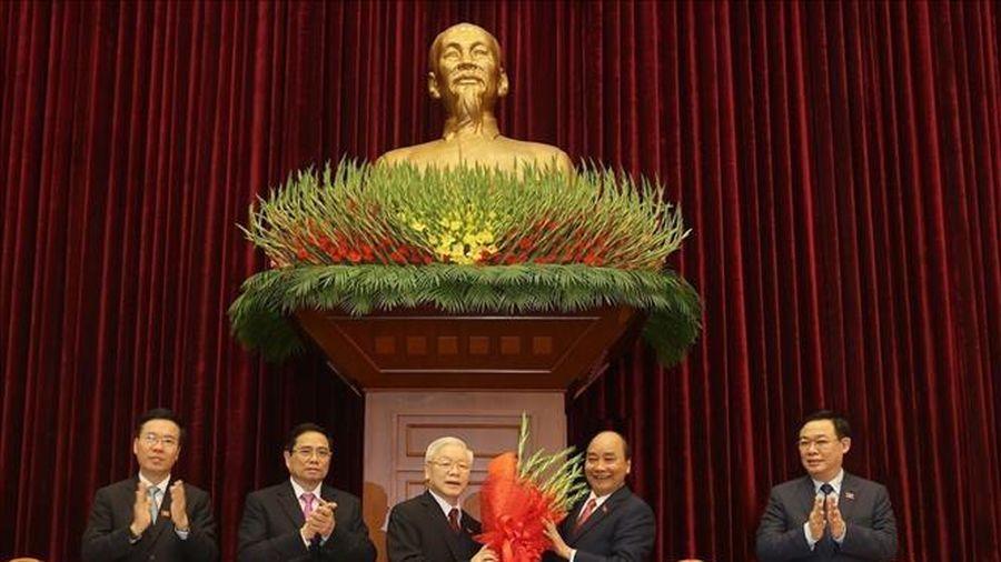 Lãnh đạo các đảng và bạn bè quốc tế chúc mừng Tổng Bí thư, Chủ tịch nước Nguyễn Phú Trọng