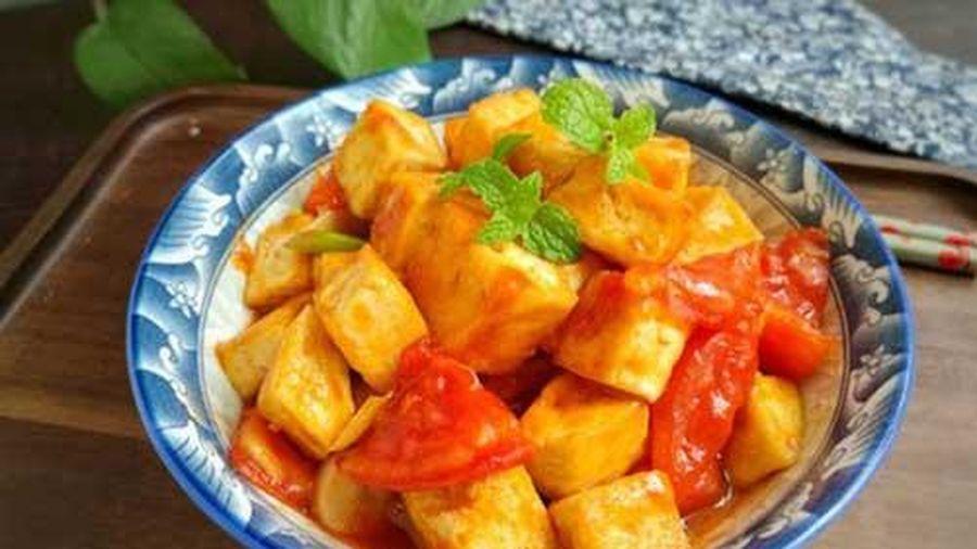 Cách làm món đậu sốt cà chua ngon khó cưỡng