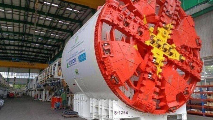 Hoàn thành chạy thử robot đào hầm tuyến Nhổn - ga Hà Nội, sẵn sàng vận hành