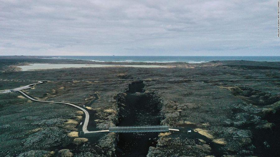 Iceland ghi nhận 17.000 trận động đất trong một tuần