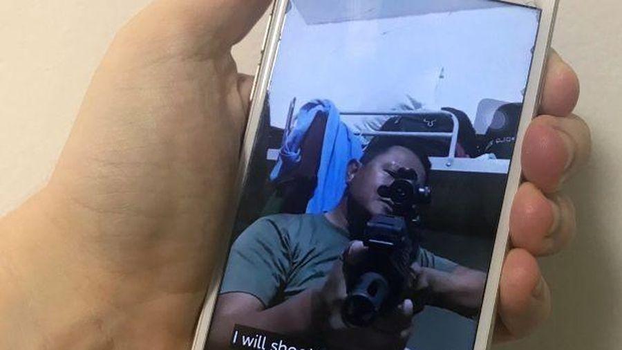 Binh lính Myanmar dùng TikTok để đe dọa người biểu tình