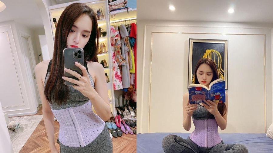 Hương Giang tiết lộ 'vũ khí bí mật' lấy lại vòng eo nhỏ sau Tết - Latex by W.STORE