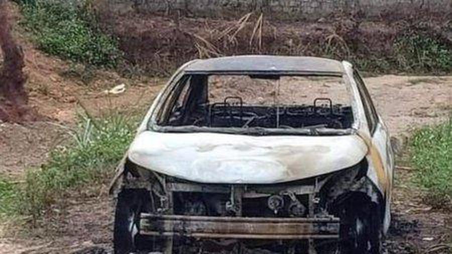 Quảng Ninh: Tạm giữ đối tượng chém người trọng thương rồi đốt xe ô tô