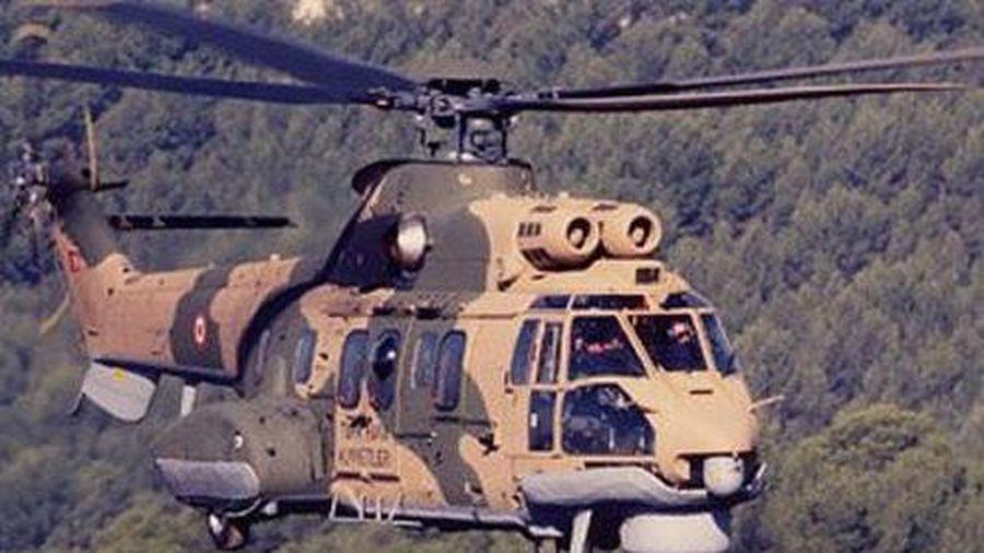 Thổ Nhĩ Kỳ: Rơi trực thăng quân sự khiến 11 người thiệt mạng