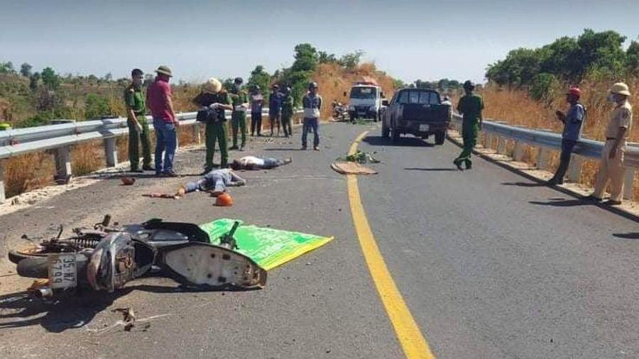 Tai nạn giao thông nghiêm trọng khiến 3 người thương vong tại Gia Lai