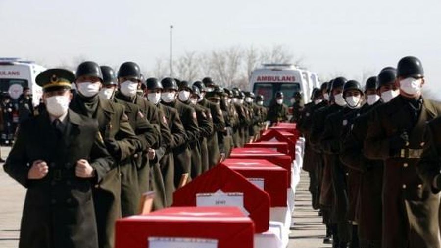 10 người thiệt mạng trong vụ rơi máy bay trực thăng quân sự ở Thổ Nhĩ Kỳ