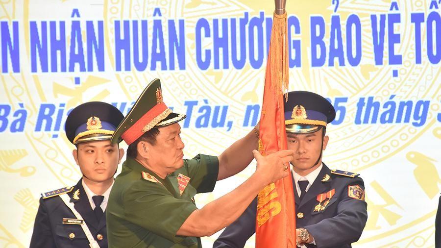 Vùng Cảnh sát biển 3 nhận Huân chương Bảo vệ Tổ quốc hạng Nhì