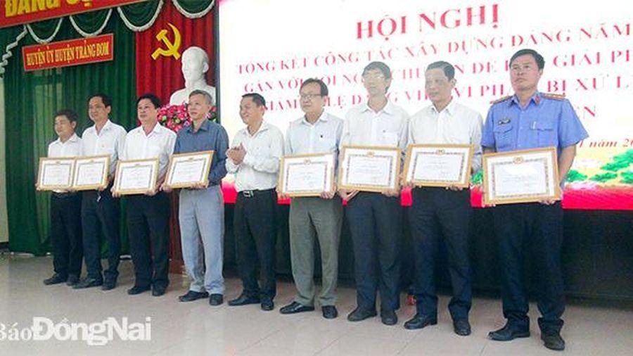 8 tổ chức cơ sở Đảng hoàn thành xuất sắc nhiệm vụ