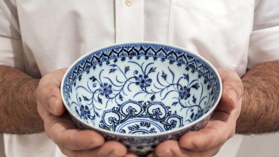 Bỏ hơn 800 nghìn đồng, người đàn ông mua trúng bát cổ siêu quý của Trung Quốc