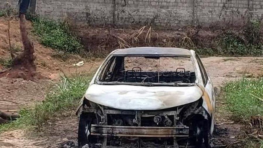 Bắt khẩn cấp nghi phạm chém người, đốt xe ô tô ở Quảng Ninh