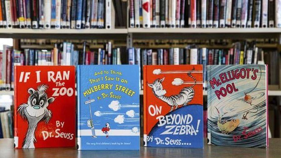 Sách của Dr. Seuss được chú ý sau khi 6 cuốn bị dừng xuất bản