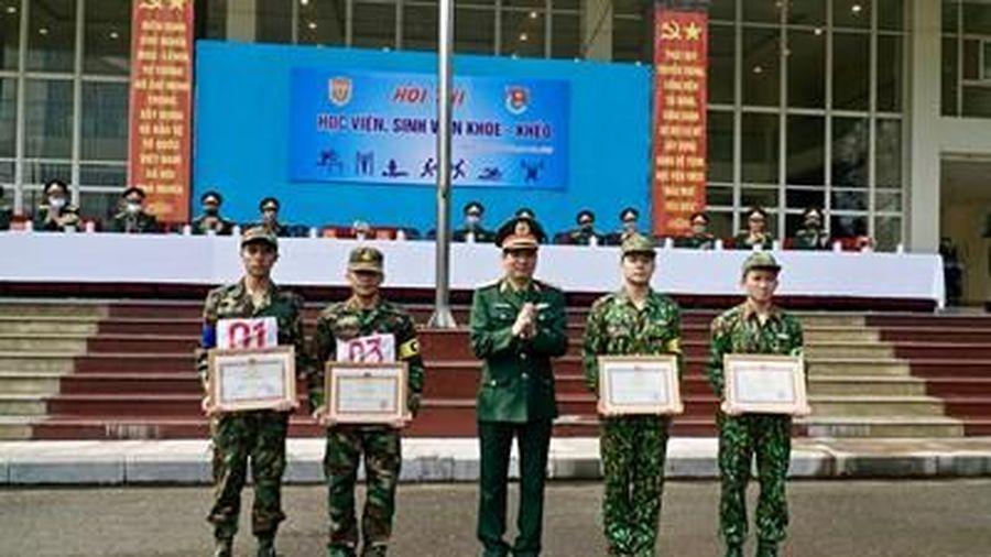 Học viện Quân y tổ chức hội thi 'Học viên, sinh viên khỏe - khéo'