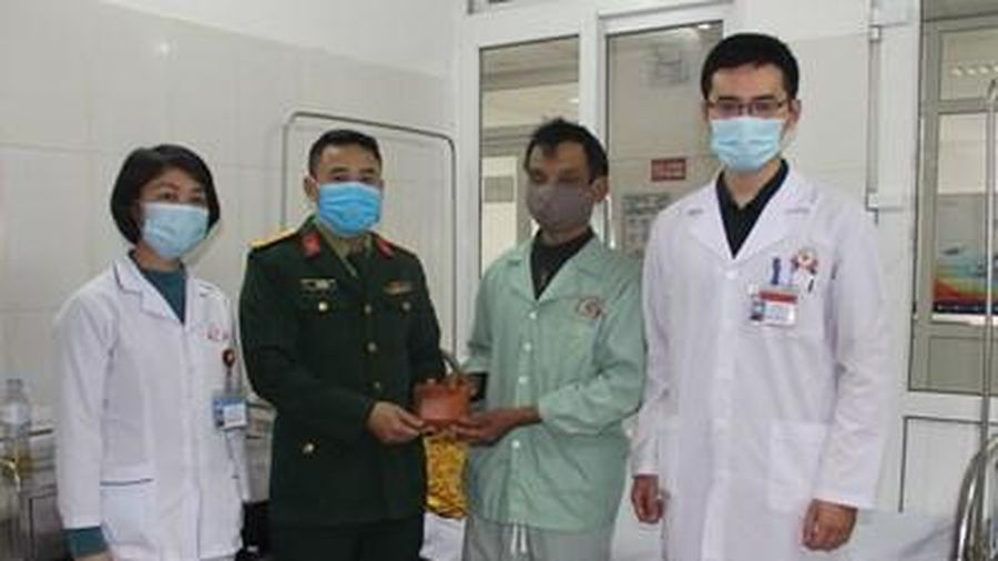 Niềm vui của Trung úy QNCN Võ Văn Hồng